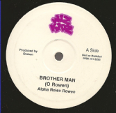 Alpha Rolex Rowen - Brother Man / Livity Dub (Wiz Kidz) 10""